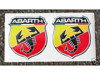 """Rahmen Fiat 500 Abarth Carbon Leder /""""500/"""" Rot Logo Schaltmanschette Schaltsack"""