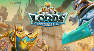 Account Lords Mobile 3.5M Gems 250M Might