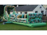 44 foot long assault course for sale bouncy castle