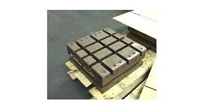 16 X 16 Sub Table Workholding Fixture W T-slots