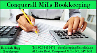Conquerall Mills Bookkeeping