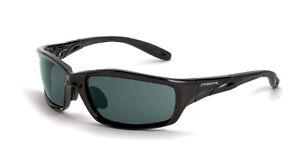 900da5d4b6 Crossfire 241 Infinity Crystal Black Frame Safety Sunglasses with Smoke  Lenses