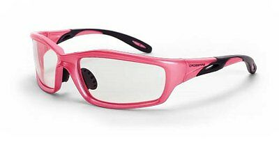Crossfire Safety Glasses Infinity 2254 Clear Motorcycle Shooting Pink Women