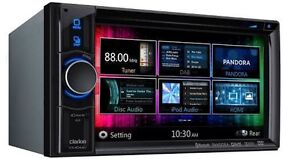"As New Clarion New Series 6.2"" D/Din w/ Mirrorlink BT etc etc Kippa-ring Redcliffe Area Preview"