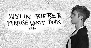 Justin Bieber A RESERVE TICKET purpose tour Narre Warren South Casey Area Preview