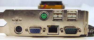 Advantech Pca-6178 Rev A2 Sbc Single Board Computer W 300mhz Pentium 4