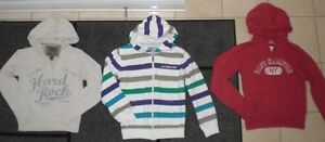 =  Lot of  Brand Name Girls Hoodie Sweaters, Size 12 - 14  =