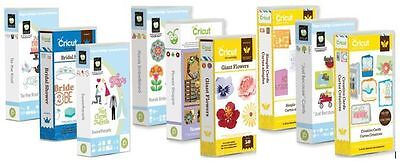LINKED BUT EUC Cricut Cartridge Personal Create Expression Machines - pick fav
