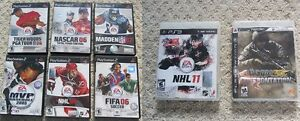 Playstation 2 (PS2) & Playstation 3 (PS3) Games-8 To Choose From