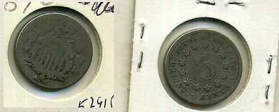 1870 TWO CENT TYPE COIN GOOD 5291F