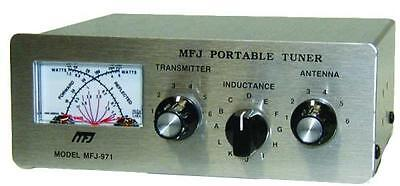 MFJ-971 Manual tuner + SWR, 1.8-30MHz, 200W. Buy it now for 124.65