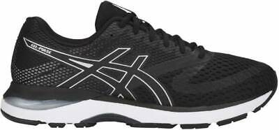Womens Asics Gel Pulse 10 1012A010 Black Silver Running Shoes Trainers UK...