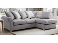 Grey DFS Corner Sofa Bed (only 9months old!)