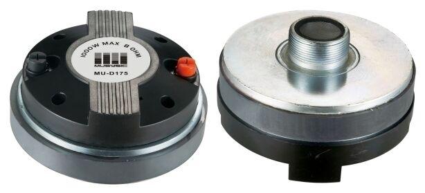 "Pair (2pcs) 1000 Watts Titanium Compression 1.75"" Screw-On Horn Driver Tweeter"