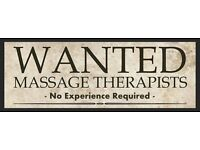 - Masseuse Woman Needed - No Experience Required - Lady Massage Therapist Wanted -