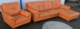 Orange leather Suite