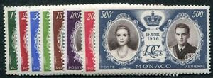 MONACO-1956-561-568-POSTFRISCH-TADELLOS-I1500
