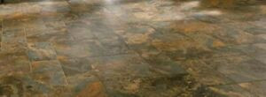 Brown Natural Slate Wall & Floor Tile 12 in x 12 in  $3.75 piece