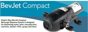FLOJET-BEVJET-COMPACT-POMPA-FLOW-CONTROL-BAG-IN-BOX-XYLEM-VINO-LITRI-PUMP-VALVE