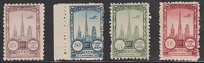 1922 FRANCE ROUEN AVIATION MEETING CINDERELLA ISSUES