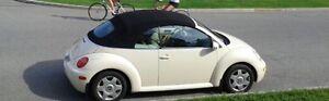 Volkswagen Beetle décapotable