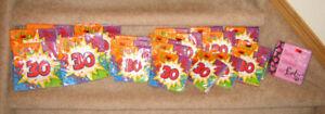 Birthday Napkins - 30, 40 / New Birthday Candles - 6, 8, 9