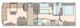 GORGEOUS 3 BEDROOM STATIC FOR SALE WITH FEES INCLUDED