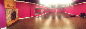 STUDIO SPACE AVAILABLE FOR RENT FOR CLASSES OR SPECIAL EVENTS