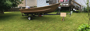 14' aluminium fishing boat