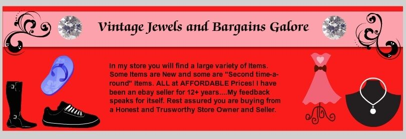 Vintage Jewels and Bargains Galore