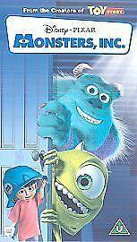 Monsters Inc VHS video 2002 - Lochgelly, United Kingdom - Monsters Inc VHS video 2002 - Lochgelly, United Kingdom