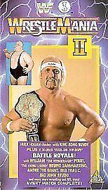 WWF  Wrestlemania 2 VHS 1991 - <span itemprop=availableAtOrFrom>Brackley, Northamptonshire, United Kingdom</span> - WWF  Wrestlemania 2 VHS 1991 - Brackley, Northamptonshire, United Kingdom