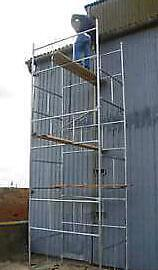 BRAND NEW SCAFFOLD TOWER - QUALITY BRITISH MANUFACTURED - GALVANISED STEEL