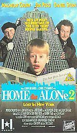 Home Alone  Lost In New York Vhs Uk