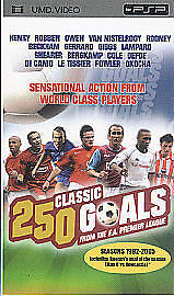 250 Greatest Premiership Goals UMD 2005 - <span itemprop=availableAtOrFrom>Merseyside, United Kingdom</span> - 250 Greatest Premiership Goals UMD 2005 - Merseyside, United Kingdom