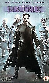 The Matrix (VHS Video) Excellent condition. Keanu Reeves.