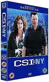 C.S.I. Crime Scene Investigation New York NY Series 6 SEASON SIX Complete DVD