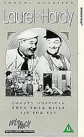 Laurel And Hardy  County Hospital  Them Thar Hills  Tit For Tat VHSDM 199 - Pontypridd, United Kingdom - Laurel And Hardy  County Hospital  Them Thar Hills  Tit For Tat VHSDM 199 - Pontypridd, United Kingdom