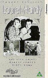Laurel And Hardy  The Live Ghost  Habeas Corpus  Dirty Work VHSDM 1998 - Pontypridd, United Kingdom - Laurel And Hardy  The Live Ghost  Habeas Corpus  Dirty Work VHSDM 1998 - Pontypridd, United Kingdom