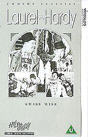 Laurel And Hardy  Swiss Miss VHS 1999 - Pontypridd, United Kingdom - Laurel And Hardy  Swiss Miss VHS 1999 - Pontypridd, United Kingdom