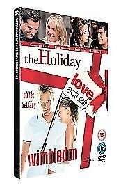 The Holiday/Love Actually/Wimbledon [DVD], Good DVD, Kirsten Dunst, Kate Winslet
