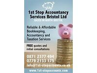 Accountant, bookkeeper, financial accounts, tax returns, vat returns, payroll and sage training
