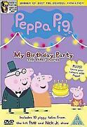 Peppa Pig My Birthday Party DVD