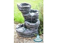 Ambiente water feature - new - never used, pump still sealed