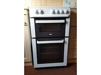 zanussi zcv561dw electric cooker white, very good condition,