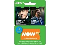 NOW TV Entertainment 3 Month Pass , xbox one , xbox 360, ps4 , ps3 etc ! price stands , no offers !