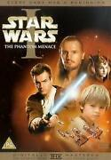 Star Wars The Phantom Menace DVD
