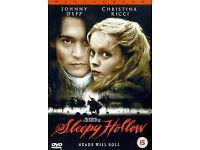 Sleepy Hollow (DVD, 2000)