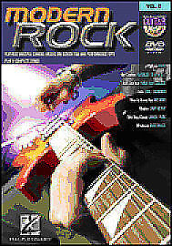 Guitar Play-Along DVD Volume 2: Modern Rock