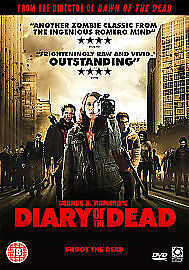 Diary Of The Dead (DVD, 2008, 2-Disc Set) Brand new still sealed.